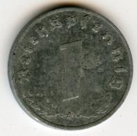 Allemagne Germany 1 Reichspfennig 1941 A J 369 KM 97 - 1 Reichspfennig