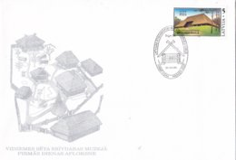 Letland - FDC 30-4-1994 - Ethnologisches Freilichtmuseum, Bergi - M 369 - Letland