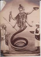INDE INDIA    18*13CM Fonds Victor FORBIN 1864-1947 - Fotos