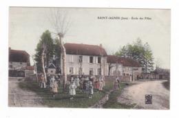 Saint-Agnès.39.Jura.Ecole Des Filles. - Francia