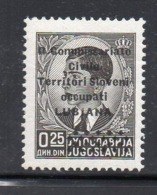 "APR2718  - LUBIANA 1941 , Sassone N. 18 ** MNH  (2380A) ""R. Commissariato........"" - 9. WW II Occupation (Italian)"