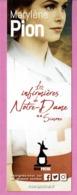 """MP éd. MON POCHE """" Les Infirmières De Notre Dame  """" De Marylène Pion - Marque-Pages"""