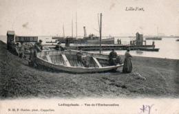 99Av   Belgique Lillo Fort Ladingplaats Vue De L'embarcadére - Belgique