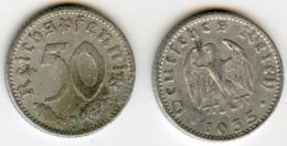 Allemagne Germany 50 Reichspfennig 1935 D KM 87 J 368 - [ 4] 1933-1945 : Troisième Reich