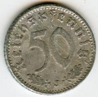 Allemagne Germany 50 Reichspfennig 1935 J KM 87 J 368 - [ 4] 1933-1945 : Troisième Reich