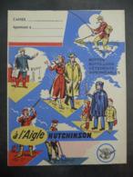 """Ancien Protège-cahier Couverture """"Bottes... à L'AIGLE HUTCHINSON"""" - Protège-cahiers"""