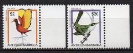 Antigua & Barbuda - 1995 - Yvert N° 1830 & 1831 ** - Série Courante, Oiseaux - Antigua And Barbuda (1981-...)