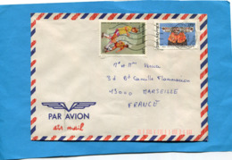 MARCOPHILIE- Lettre BURKINA FASO>Françe-cad 1990 2 Stamps N°667-foot Coupe Mexico-86-sport+780 Masque+ - Burkina Faso (1984-...)