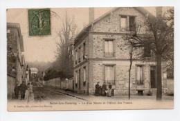 - CPA SAINT-LEU-TAVERNY (95) - La Rue Neuve Et L'Hôtel Des Postes 1906 (avec Personnages) - Edition E. Lemire - - Saint Leu La Foret