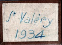 18 Plaques De Verre Négatifs Originaux Saint Valéry En Caux En 1934 - Plage, Vagues, Maillots De Bains & Campagne 76460 - Glasplaten