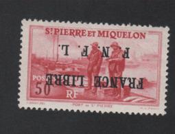 Faux Curiositée Saint-Pierre Et Miquelon Gomme Sans Charnière - Ungebraucht