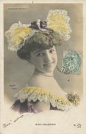 Moulin Rouge Miss Arlington Sexy Colorisée  Envoi à Luneau à La Chaussée Ardente Indre - Kabarett