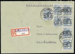 1948, Bizone, 40 I (7), Brief - American/British Zone