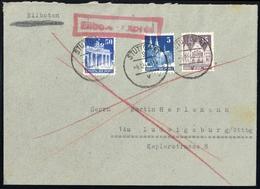 1948, Bizone, 75 + 82 + 91, Brief - American/British Zone