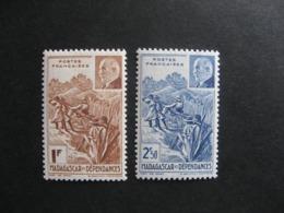 MADAGASCAR:  TB  Paire N° 229 Et N° 230, Neufs X. - Madagascar (1889-1960)