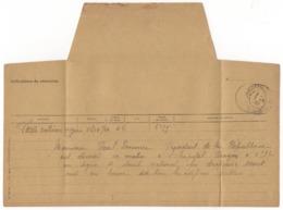 Télégramme Officiel Extrème Urgence Du 7 Mai 1932 Annonçant La Mort De Paul Doumer, Président De La République - Vieux Papiers