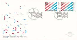 Nederland - FDC - 200 Jaar Betrekkingen Nederland - USA- NVPH E201 - Geschiedenis