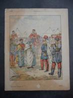 """Ancien Protège-cahier Couverture """"Conquête De L'ALGERIE - Reddition D'ABD-EL-KADER"""" (CAHIER COMPLET) - Protège-cahiers"""