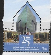 UAE, 2019, MNH, EMIRATES CENTER FOR STRATEGIC STUDIES AND RESEARCH ,1v - Other