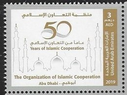 UAE, 2019, MNH, A50 YEARS OF ISLAMIC COOPERATION, MOSQUES,1v - Islam