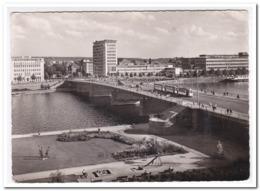 Frankfurt Am Main, Blick Auf Die Friedensbrücke - Frankfurt A. Main
