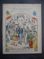 """Ancien Protège-cahier Couverture """"La Vie Du Président CARNOT - Inauguration Statue à ANVERS"""" (CAHIER COMPLET) - Protège-cahiers"""