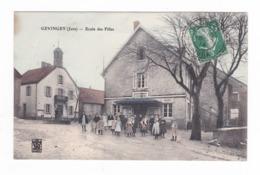 Gevingey.39.Jura.Ecole Des Filles.1914 - Autres Communes