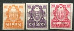 RUSSIE - Yv N°  150 à 152  ND *  Révolution  Cote  1,5 Euro  BE  2 Scans - 1917-1923 Repubblica & Repubblica Soviética