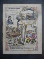 """Ancien Protège-cahier Couverture """"La Force Motrice De La VAPEUR..."""" (CAHIER COMPLET) - Protège-cahiers"""