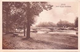 Seltene ALTE  AK  JÜLICH / NRW  - Partie An Der Ruhrbrücke - 1925 Mit Belgischer Feldpost Gelaufen - Juelich