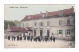 Nozeroy.39.Jura.Ecole Et Mairie.1917 - France