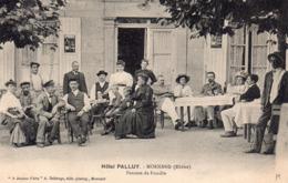 CPA De MORNAND - Hôtel PALLUY. - Autres Communes