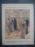 """Ancien Protège-cahier Couverture """"Forces Morales De La France - CREDIT DE LA FRANCE"""" (CAHIER COMPLET) - Protège-cahiers"""