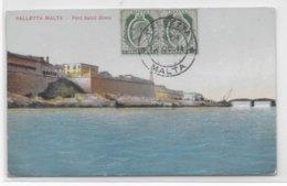 MALTA - 1911 - CARTE De VALLETTA => MARSEILLE - Malte