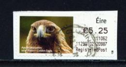 IRELAND  -  2010 Golden Eagle SOAR (Stamp On A Roll)  Used On Piece As Scan - 1949-... République D'Irlande