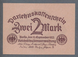 Pick 62 Ro 74 DEU-196   2 Mark 1922  UNC ! - [ 3] 1918-1933 : République De Weimar