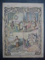 """Ancien Protège-cahier Couverture """"Les SOINS Du MENAGE"""" (CAHIER COMPLET) - Protège-cahiers"""