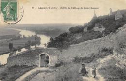 CPA 78 LIMAY ENTREE DE L ABBAYE DE SAINT SAUVEUR - Limay