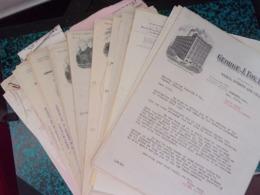 Lot De Documents (environ 75 Courriers) : Commerce Des Vins & Alcools Au CANADA - Voir Description - Canada
