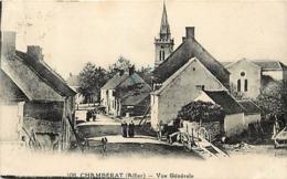 - Allier -ref-C489- Chamberat - Vue Generale - Rue - Carte Bon Etat - - France