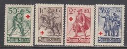 Finland 1940 - Rotes Kreuz: Finnische Soldaten, Mi-Nr. 222/25, MNH** - Finland