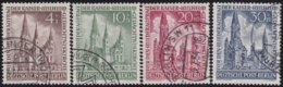 Berlin     .   Michel     .   106/109  (2 Scans)       .      O         .    Gebraucht    .    /    .    Cancelled - Used Stamps
