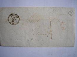 FRANCE - LAC En Correspondance Locale De Meursault Pour Beaune Le 6/10/44 Cachet De Facteur M2 Taxe Manuscrite 1 - 1801-1848: Précurseurs XIX