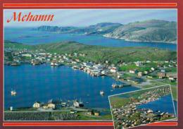 1 AK Norwegen * Mehamn In Nordnorwegen Halbinsel Vedvik An Der Barentssee - Die Nördlichste Anlaufstelle Der Hurtigruten - Norwegen