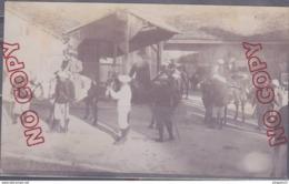 Au Plus Rapide Savoie Mont Blanc Megève La Giettaz Départ Pour Le Christomet 22 Août 1906 - Personnes Anonymes