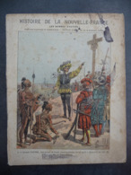 """Ancien Protège-cahier Couverture """"Histoire De La Nouvelle-France - JACQUES CARTIER"""" (CAHIER COMPLET) - Protège-cahiers"""