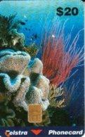 AUSTRALIA $20 CORAL SCENE MARINE LIFE CHIP CODE 98/31N ED.06/00 READ DESCRIPTION !! - Australië
