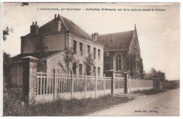 Cpa...Clairmarais Par Saint-Omer...institution St-bernard..vue De La Route Venant De De St-omer.... - Saint Omer