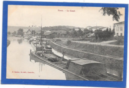 54 XURES - Le Canal - Péniches - France