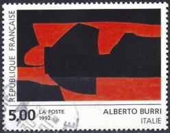 France 1992 - Mi 2928 - YT 2780 ( Painting By Alberto Burri ) - France